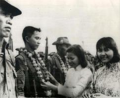 ao dai Tay Ninh 1966