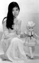 ao dai thap nien 1960 -HD