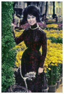 áo dài sài gòn 1966