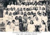 Nữ sinh Trung học trước 1975 14