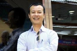 Nhà báo Hùng Sơn phó tổng biên tập báo Ngày Nay.